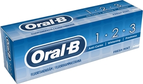 Tandkräm Oral-B Oral-B 1-2-3, 75 ml, 3605439