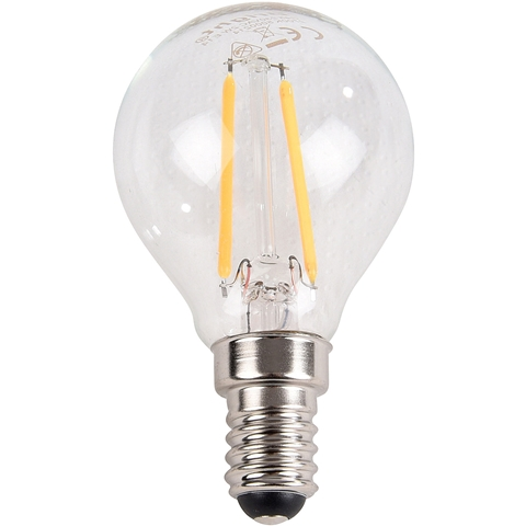 LED-lampa E14 Bright, 2W filament klot 250lm, 5000214