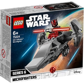 Byggklossar LEGO Star Wars: Sith Infiltrator Microfighter, nr 75224, 3112004
