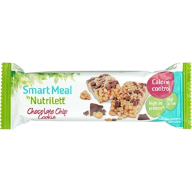 Måltidsersättningsbar Nutrilett Smart Meal Chocolate Chip Cookie, 60 g, 3608048