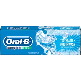 Tandkräm Oral-B Complete MouthWash & Whitening, 75 ml, 3607531