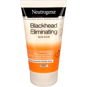 Ansiktsskrubb Neutrogena Blackhead Eliminating Facial Scrub, 150 ml, 1601044