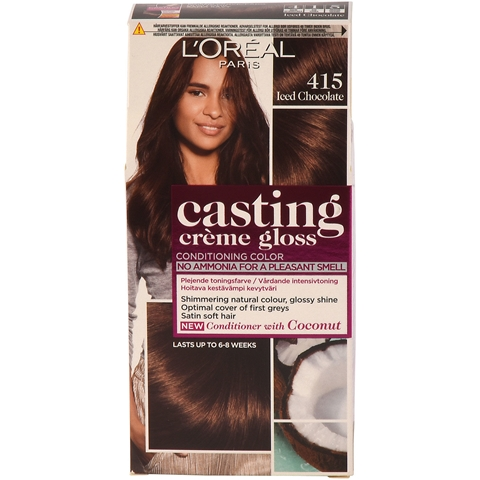 Intensivtoning L'Oréal Paris Casting Creme Gloss 415 Iced Chocolate, 160 ml, 3605132