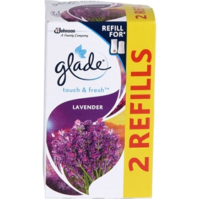 Luftfräschare Glade Touch n Fresh Lavendel Refill, 2-pack (2x10 ml), 3609724