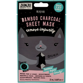 Ansiktsmask JiinJu Bamboo Charcoal Sheet Mask, 25 ml, 3608969