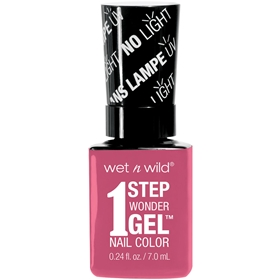 Nagellack Wet n Wild 1 Step WonderGel Nail Color 722B Missy in Pink, 3607338