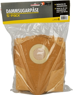 Dammsugarpåsar Do-it, 5-pack, 3500718