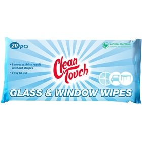 Putsdukar Clean Touch Glas- & Fönsterdukar, 20-pack, 1600548