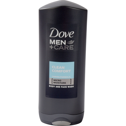 Duschgel Dove For Men Clean Comfort, 400 ml, 3608046