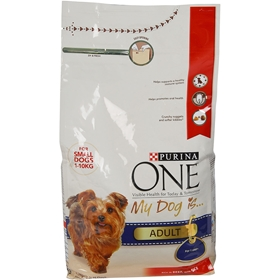 Torrfoder Purina One My Dog Is Adult, 1,5 kg, 4100078