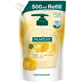Tvål Palmolive Naturals Nourishing Milk & Honey, refill 500 ml, 3604738