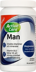 Multivitaminer Active Care Man, 150-pack, 3606044
