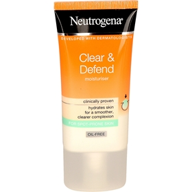 Ansiktscreme Neutrogena Clear & Defend Moisturiser, 50 ml, 3608952